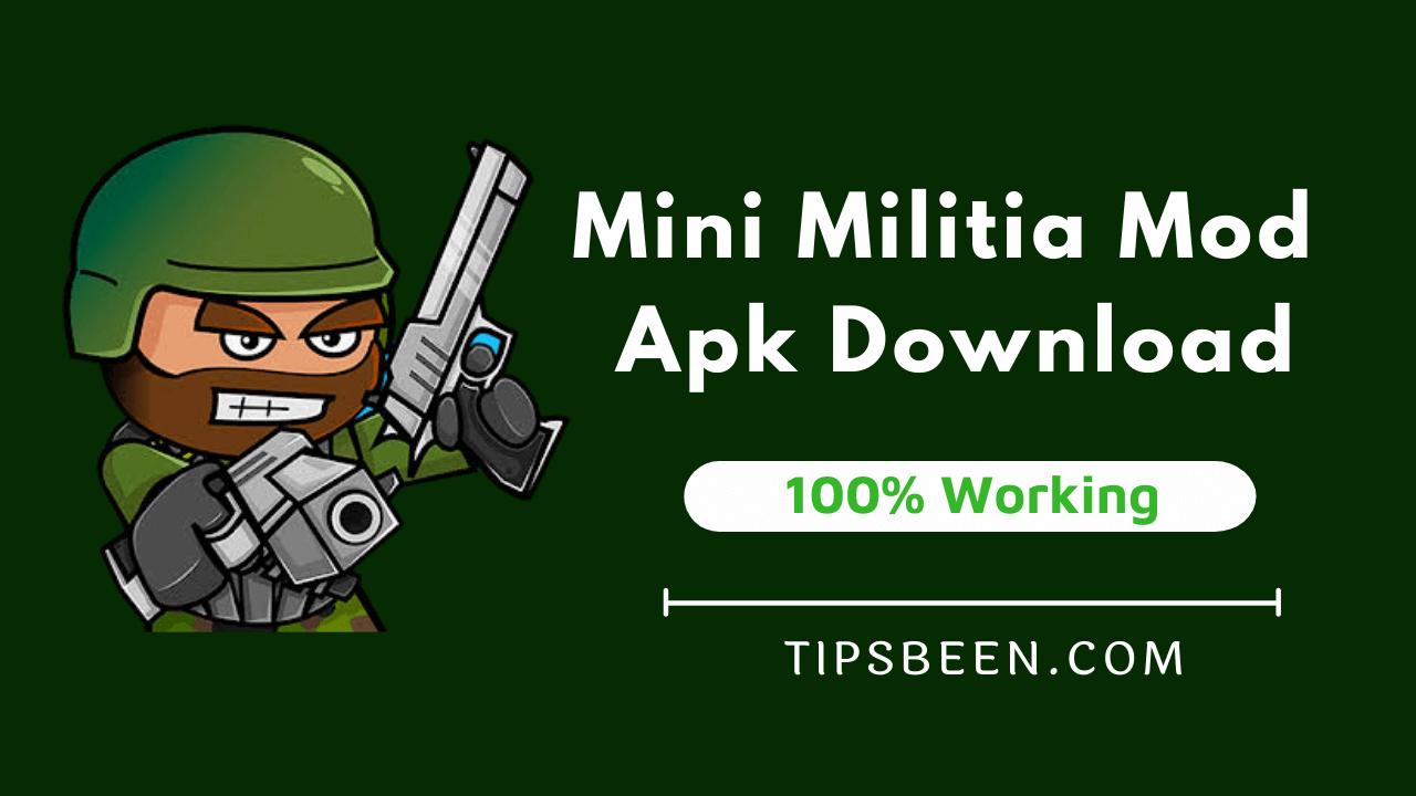 Mini Militia Mod Apk v5.3.7 (Unlimited Money)