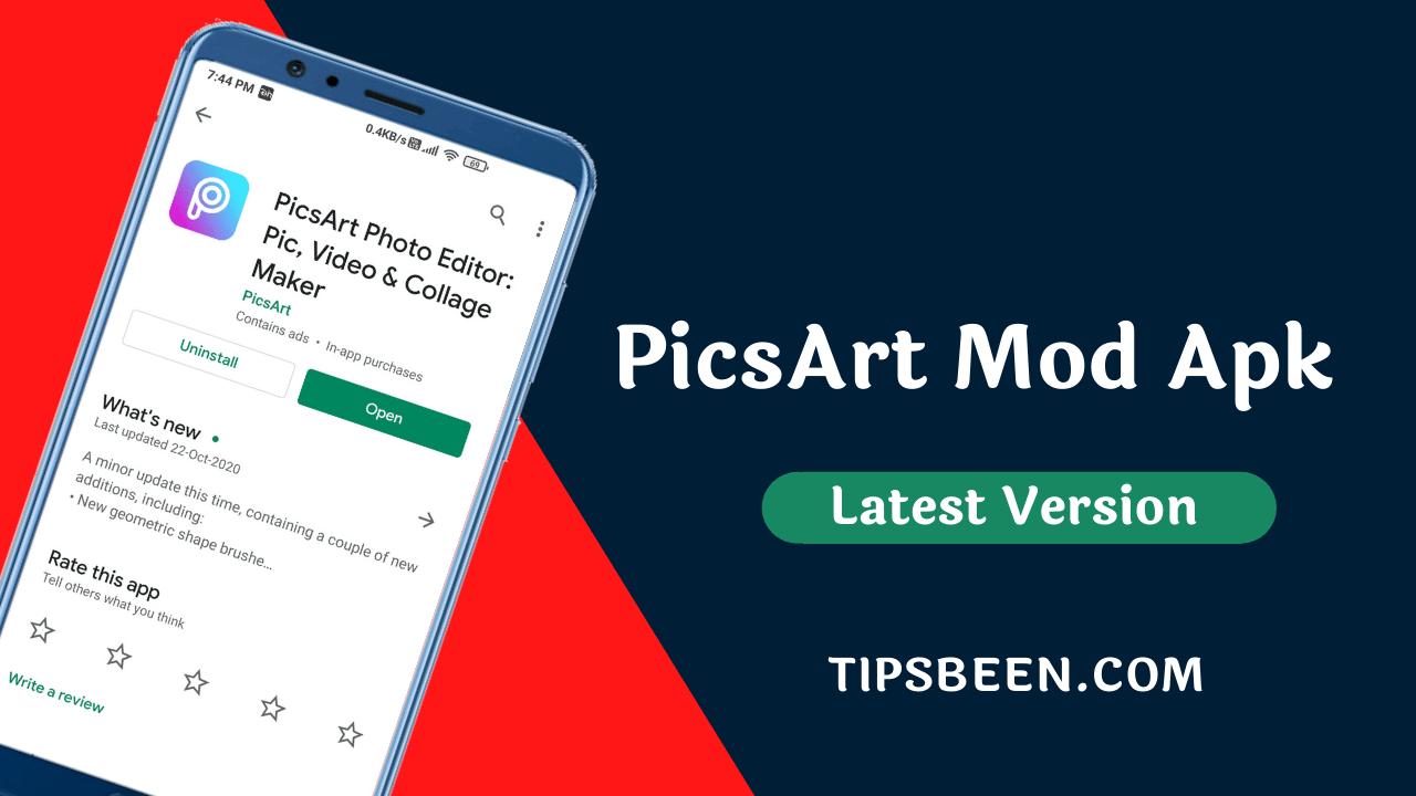 PicsArt Gold Mod Apk Free Download 2021