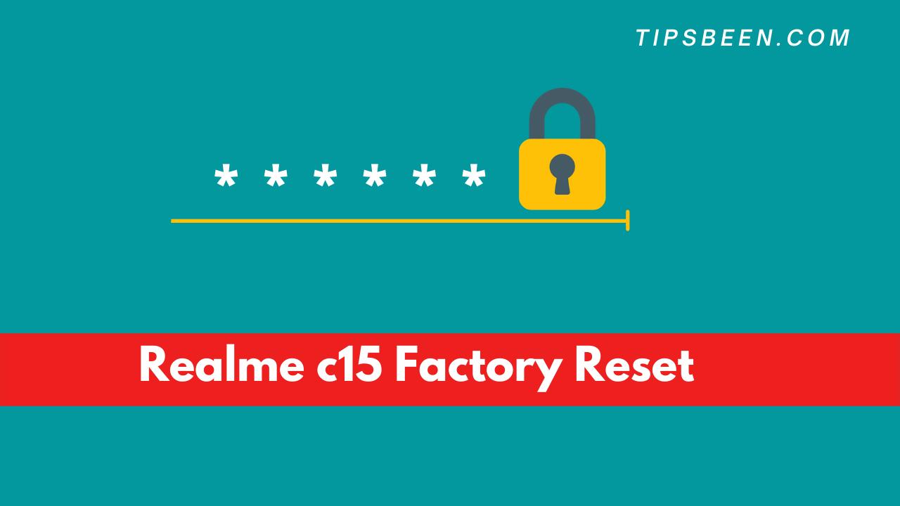 Realme c15 Factory Reset