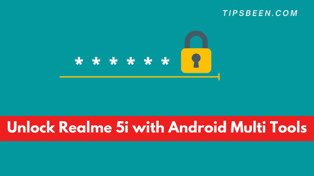 Unlock Realme 5i with Android Multi Tools